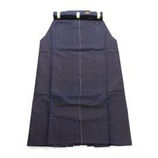 画像2: 剣道袴「40KAN」武州紺最上綿袴 #4000 26号(国産・本藍先染め)適応身長175cm (2)