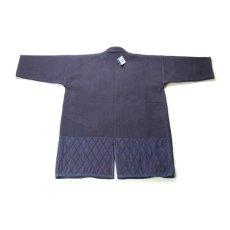 画像2: 剣道着「武州一」二重最上「勝気」 #220 4.5号(国産・本藍先染め)適応身長185cm (2)