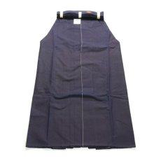 画像2: 剣道袴「30KAN」武州紺上製綿袴 #3000 24号(国産・本藍先染め)適応身長160cm (2)