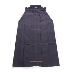 画像1: 剣道袴「30KAN」武州紺上製綿袴 #3000 24号(国産・本藍先染め)適応身長160cm (1)