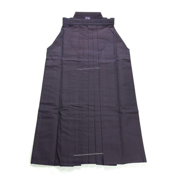 画像1: 剣道袴「万里」武州紺特選綿袴 #10000 23号(国産・本藍先染め)適応身長155cm (1)