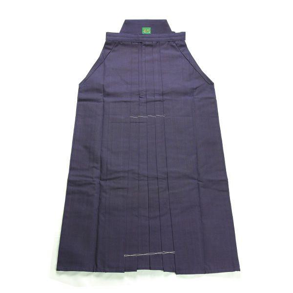 画像1: 剣道袴「26KAN」武州紺上製綿袴 #2600 18号(国産・本藍先染め)適応身長125cm (1)
